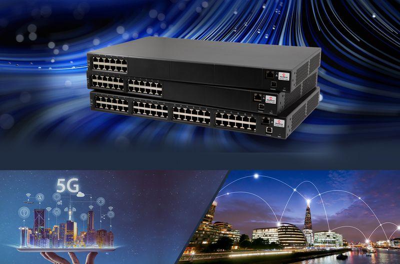 <strong>Microchip</strong> представи многопортов PoE инжектор за Wi-Fi 6 точки за достъп и малки GSM възли