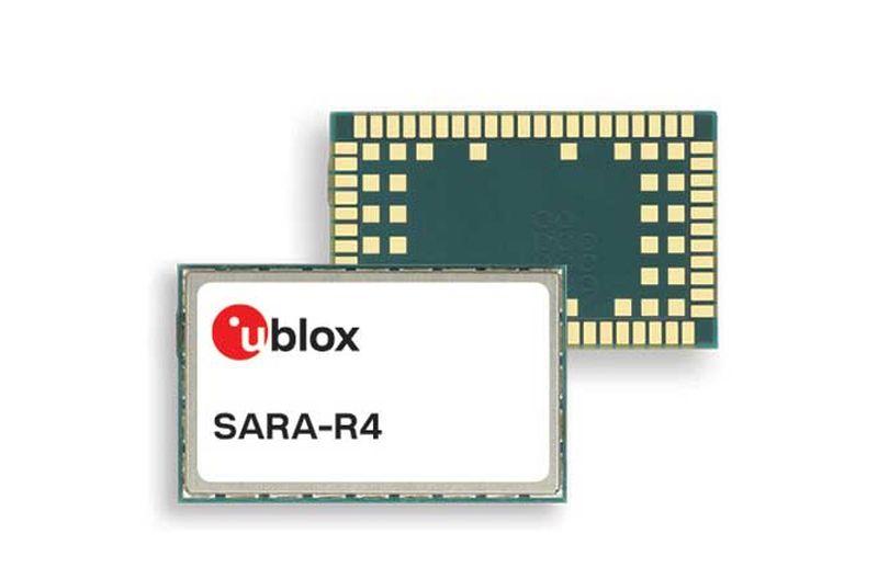 Започва производството на новия мод<strong>у</strong>л SARA-R42x на <strong>u</strong>-<strong>blox</strong>, поддържащ LTE Cat.M1, NBIoT и 2G