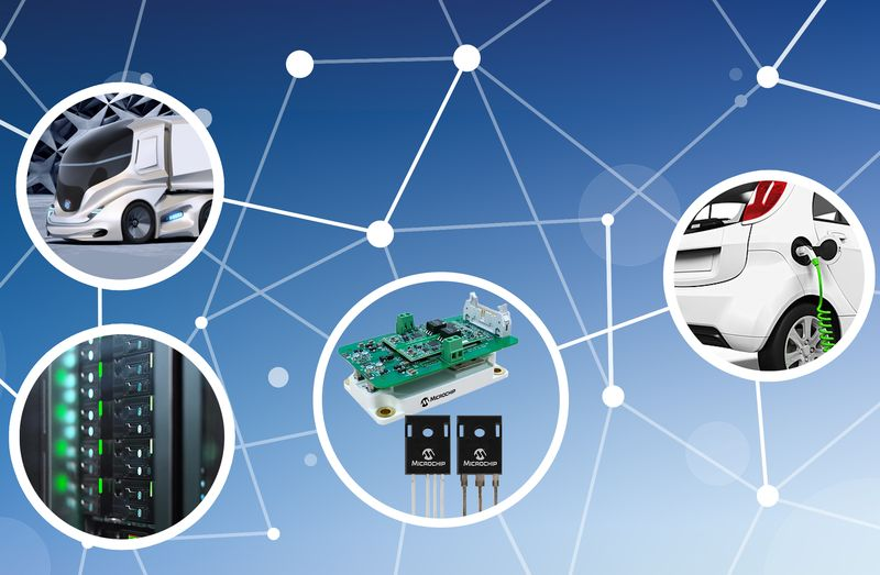 <strong>Microchip</strong> представи 1700-волтови SiC силови компоненти