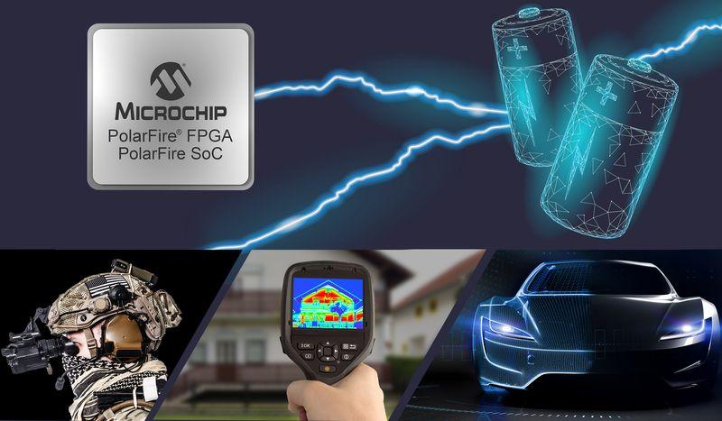 Microchip представи нови FPGA с намалено наполовина енергопотребление
