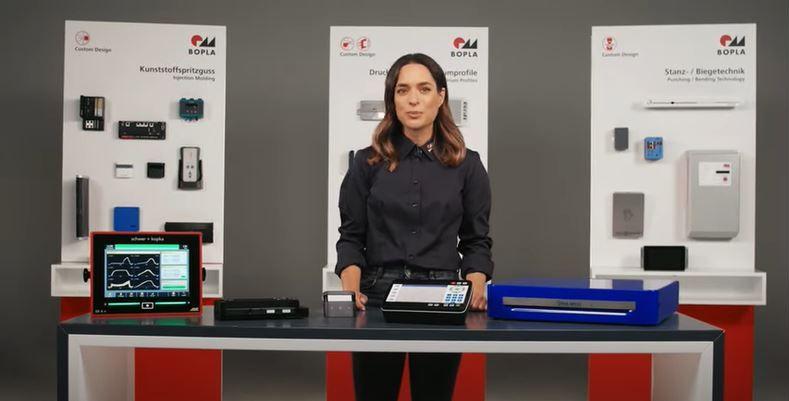 Персонализирани корпуси за електронни устройства от Bopla