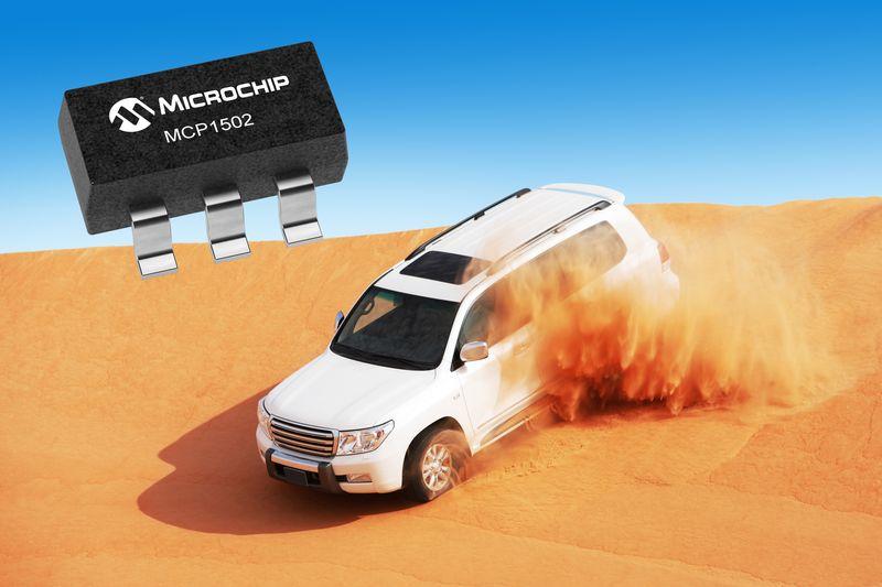 <strong>Microchip</strong> представи нова интегрална схема за референтно напрежение с разширен температурен диапазон