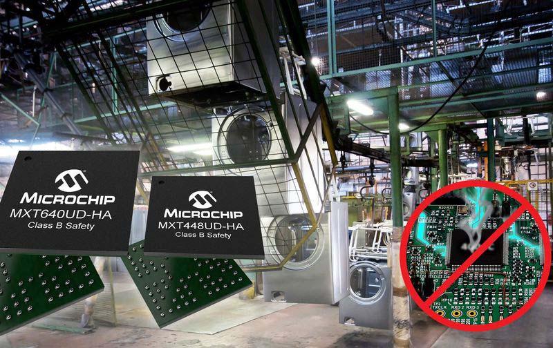 <strong>Microchip</strong> представи нови контролери за капацитивни сензорни екрани