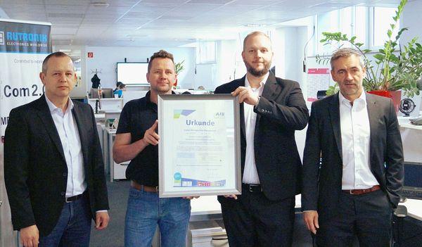 Rutronik получи награда за <strong>корпоративна</strong> <strong>социална</strong> <strong>отговорност</strong>