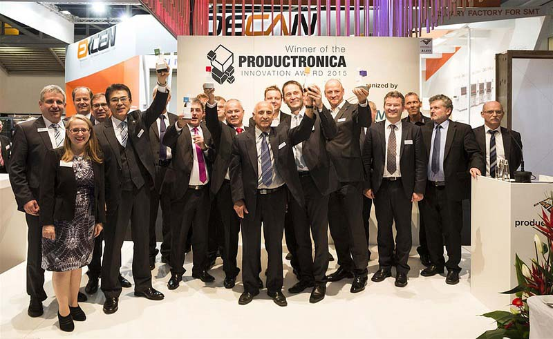Наградите за иновации на productronica ще бъдат връчени в 6 категории