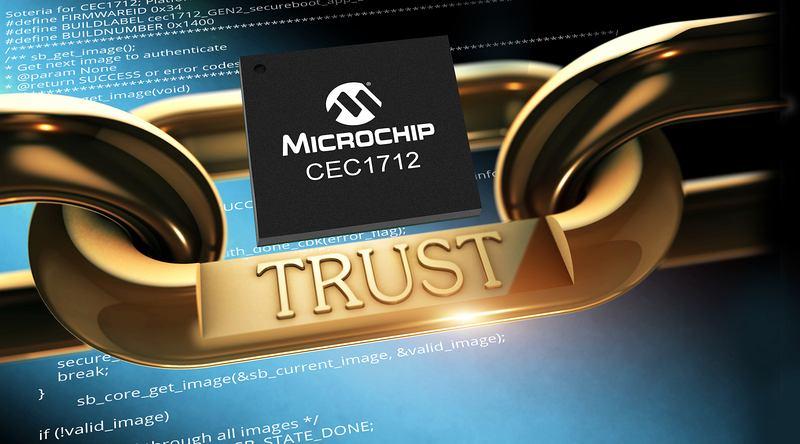 Microchip представи нов микроконтролер с криптографски възможности
