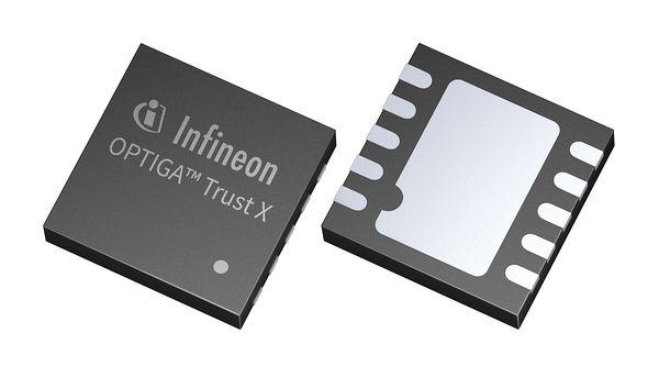Хардуерно решение за сигурност OPTIGA Trust X от Infineon Technologies