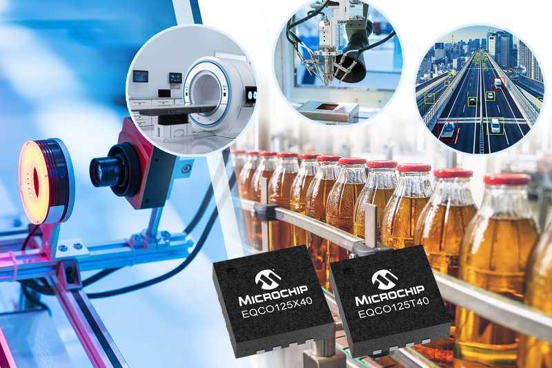 Microchip обяви нова фамилия CoaXPress 2.0 чипове за системи за машинно зрение