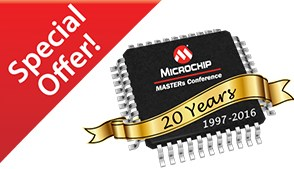30% отстъпка за <strong>Microchip</strong> <strong>MASTERs</strong> Конференция 2016