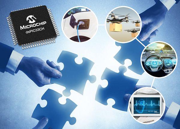 Microchip представи нов двуядрен цифров сигнален контролер