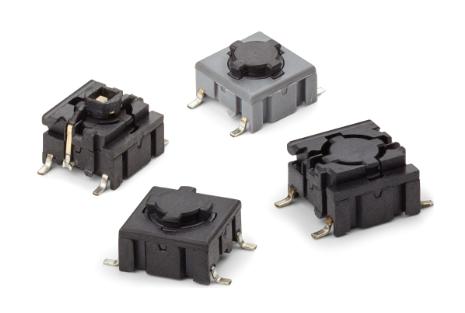 Професионални тактилни превключватели и аксесоари от MEC Switches
