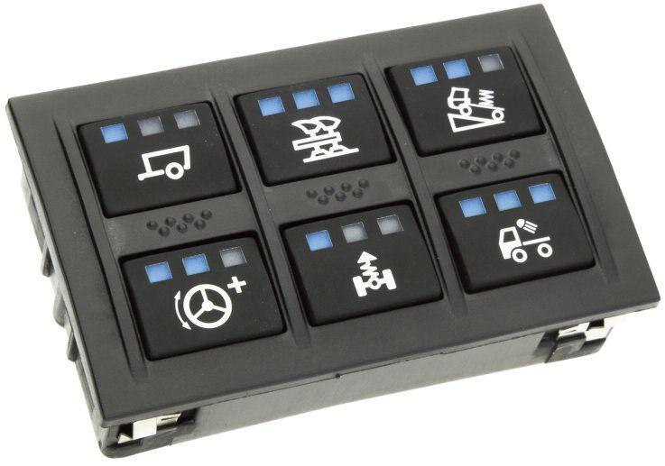 CANbus клавиатура с 6 бутона и възможност за персонализация