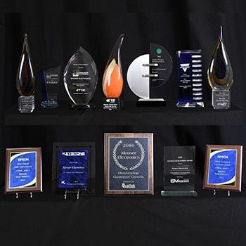 Mouser Electronics с награди от водещи производи<strong>те</strong>ли