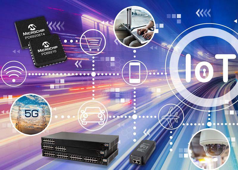 Microchip представи решение за съвместими с IEEE 802.3bt-2018 устройства