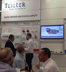 Телетек Електроникс взе участие на изложението ISAF 2013 в Истанбул
