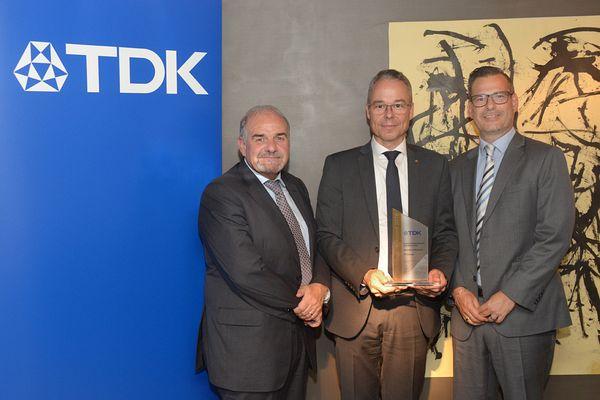 T<strong>TI</strong> спечели награда за дистрибуция от ТDK Europe